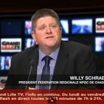 Willy Schraen, président de la Fédération des Chasseurs du Nord-Pas-de-Calais
