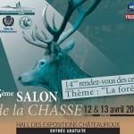 Affiche du 5è Salon de la Chasse et 14è Rendez-vous des Cerfs de l'Indre