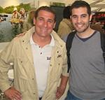 Photo avec le présentateur de Seasons, David Chaignon