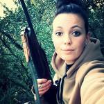 Léa : une jeune chasseresse du Vaucluse