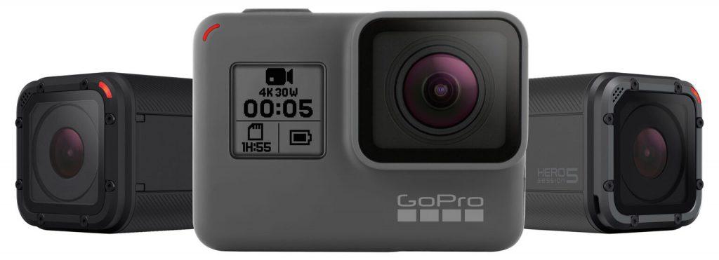 GoPro pour la chasse : la gamme Hero 5 est sortie