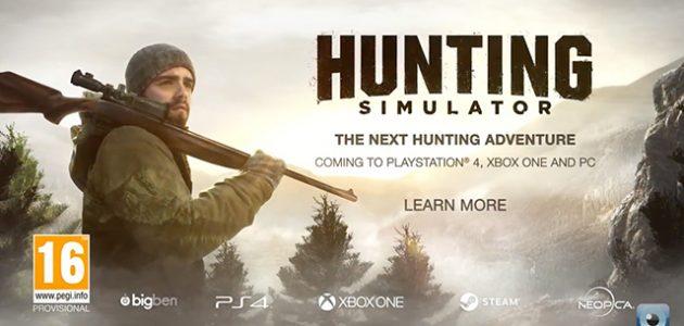 Hunting Simulator arrive sur les consoles cet été