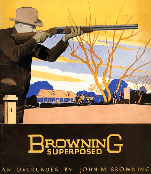 Browning créé le premier fusil superposé au monde