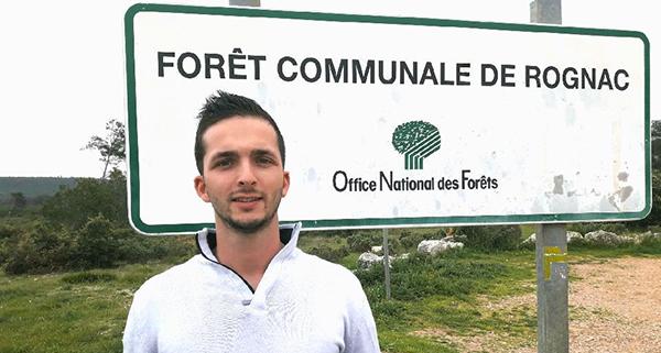 Axel Martin, jeune président de l'association communale de Chasse à Rognac