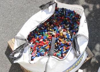 Le recyclage des cartouches de chasse