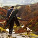 Un chasseur et son chien au moment de l'ouverture 2018-2019