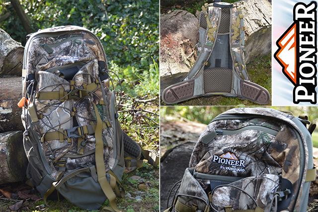 Sac à dos de chasse Pioneer by Vanguard (modèle 1600 RT)