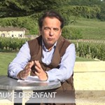 Guillaume Desenfant présente le journal télévisé de la chasse