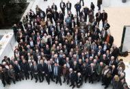 Photo lors de l'assemblée générale de la Fédération Nationale de la Chasse 2018